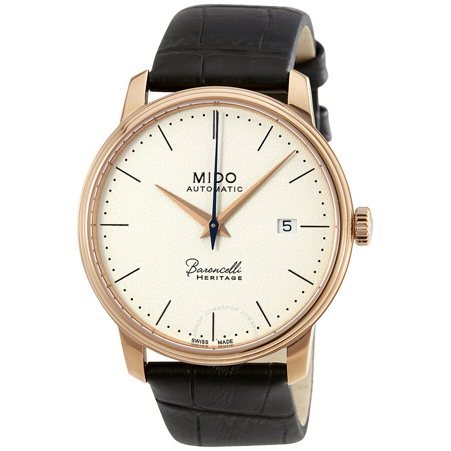 Mido baroncelli iii automatic men 39 s watch baroncelli mido watches for Mido watches