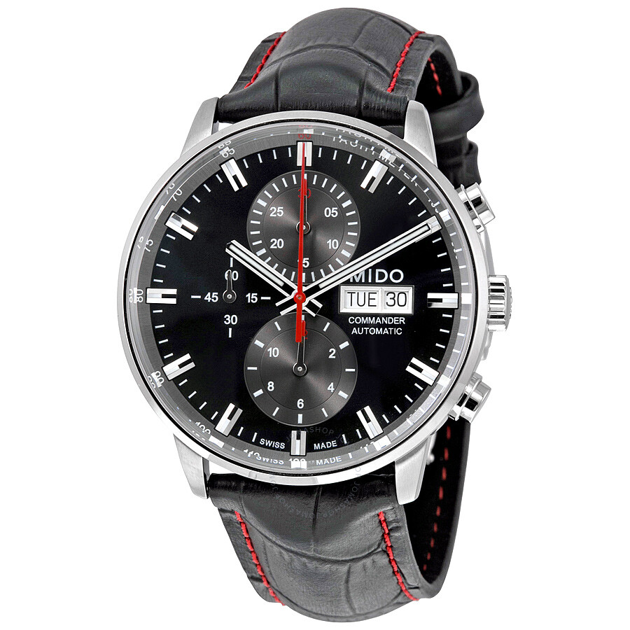 Mido commander ii automatic chronograph men 39 s watch commander mido for Mido watches
