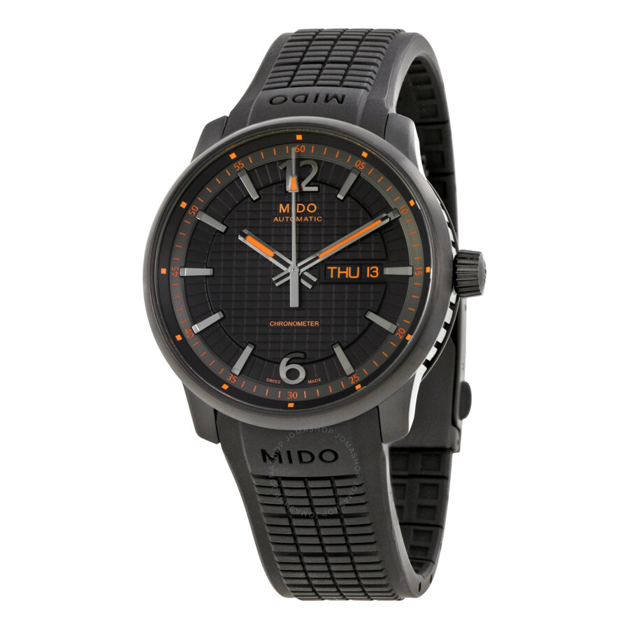 Mido Great Wall Black Dial Automatic Men 39 S Watch