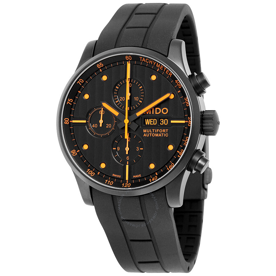 Mido multifort automatic chronograph men 39 s watch m0056143705101 multifort mido watches for Mido watches