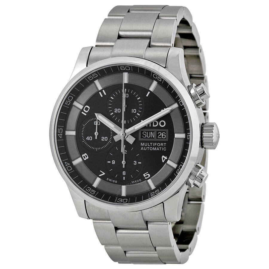 Mido multifort automatic chronograph men 39 s watch m0056141105701 multifort mido watches for Mido watches
