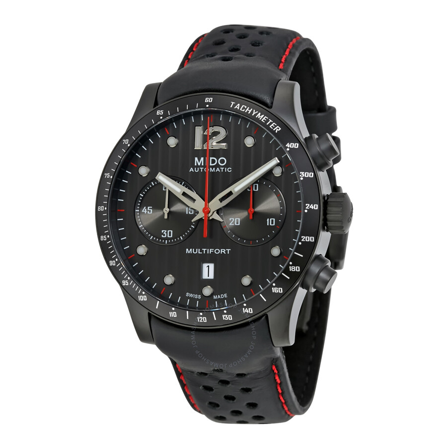 Mido multifort chronograph automatic men 39 s watch multifort mido watches for Mido watches