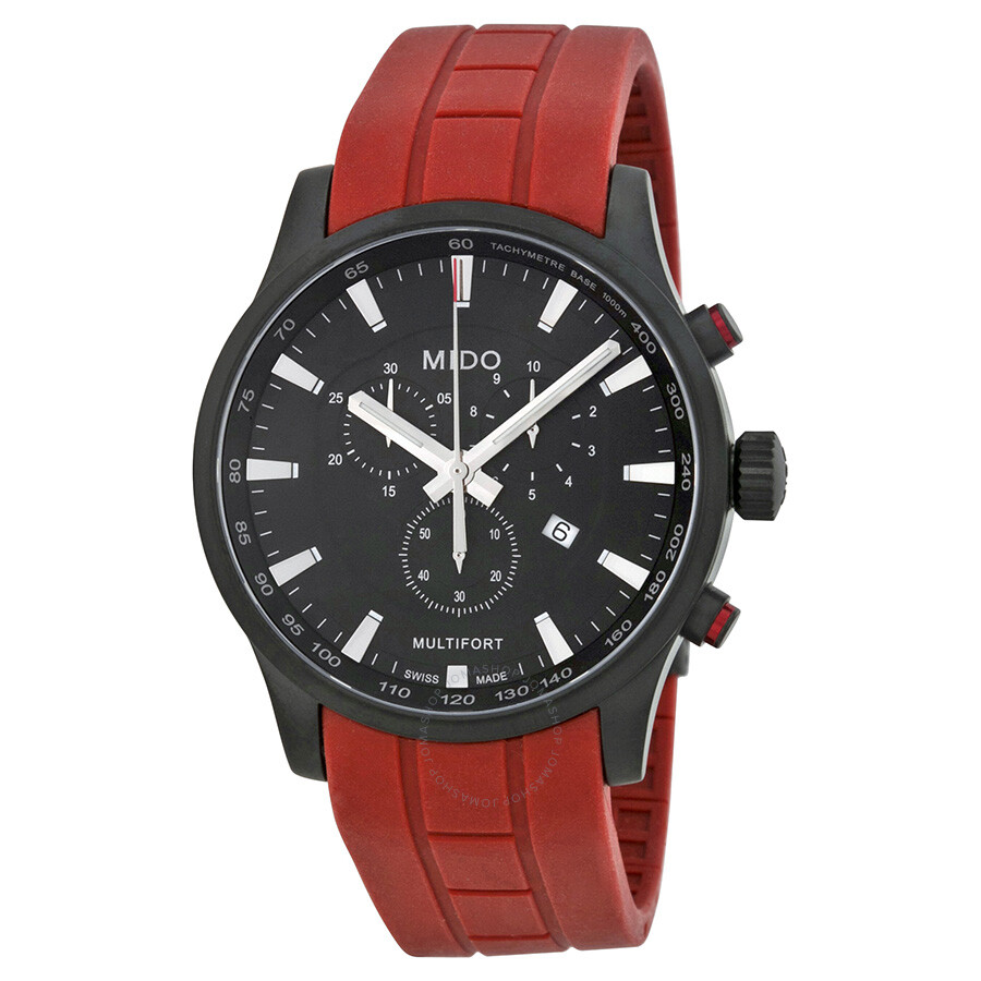 Mido multifort chronograph men 39 s watch m0054173705140 multifort mido watches jomashop for Mido watches