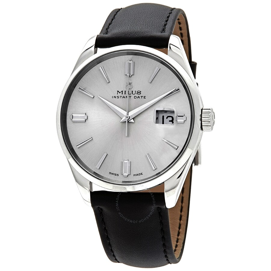 Milus Snow Star Heritage Automatic Silver Dial Men's Watch