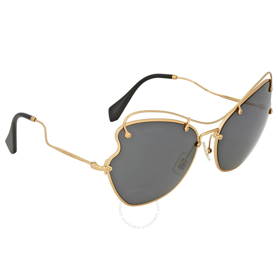 33c68f46fbc Miu Miu Antique Gold Butterfly Sunglasses Miu Miu Antique Gold Butterfly  Sunglasses ...