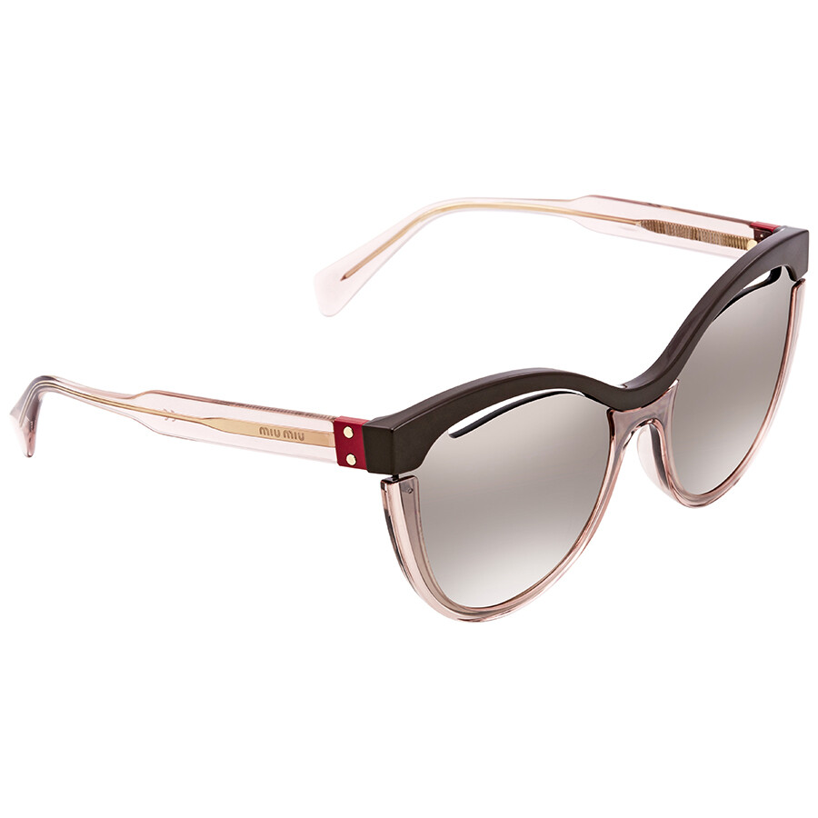 fbf98534999 Miu Miu Cat Eye Sunglasses MU 01TS DHO4P0 36 - Miu Miu - Sunglasses ...
