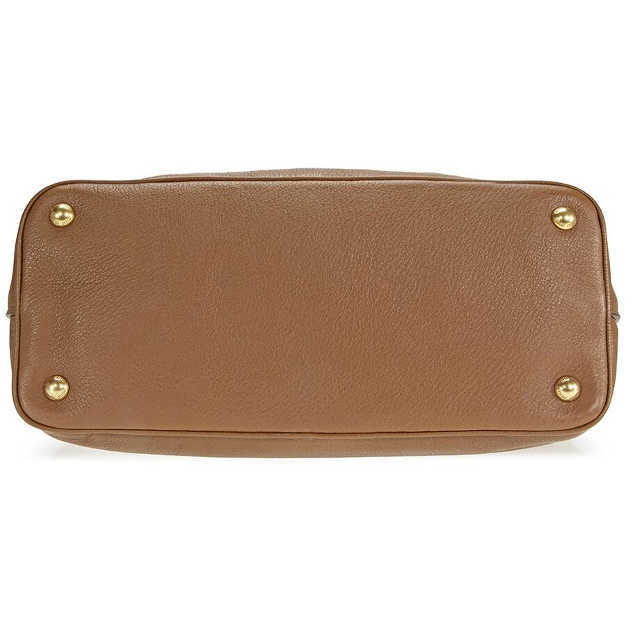 Miu Miu Cinnamon Leather Hobo Bag - Miu Miu - Handbags - Jomashop 45628b4a28