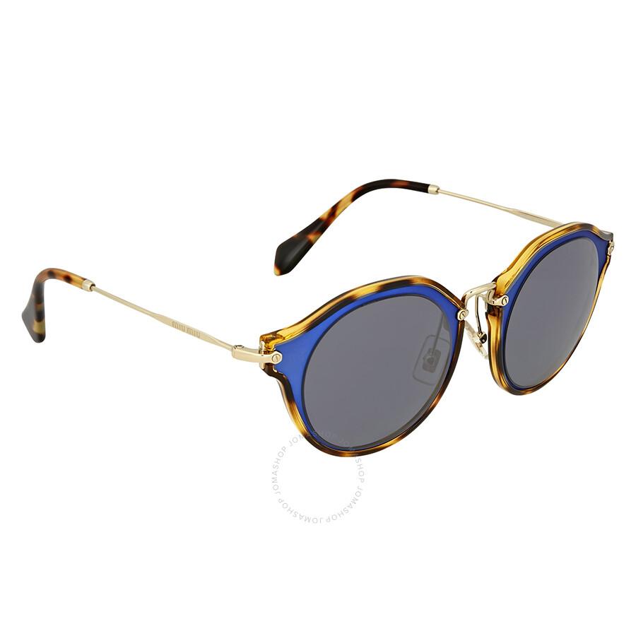 f81f6bd19a01 Miu Miu Matte Azure Metal Sunglasses Miu Miu Matte Azure Metal Sunglasses  ...