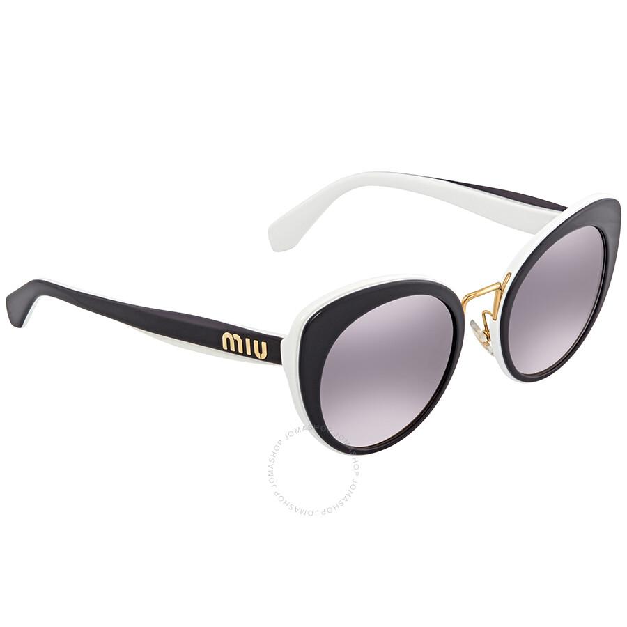 b5d3d5d0eab2 Miu Miu Pink Gradient Dark Cat Eye Ladies Sunglasses MU 06TS J9XGR0 53 Item  No. MU 06TS J9XGR0 53