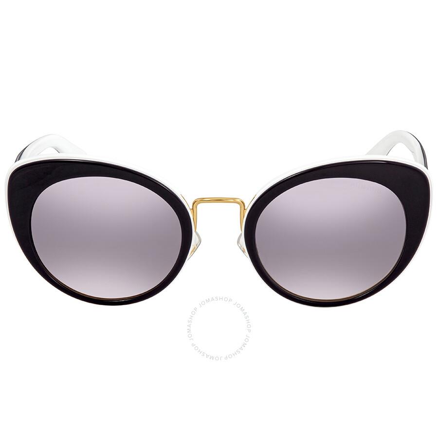 c9c3089ed53 ... Miu Miu Pink Gradient Dark Cat Eye Ladies Sunglasses MU 06TS J9XGR0 53  ...