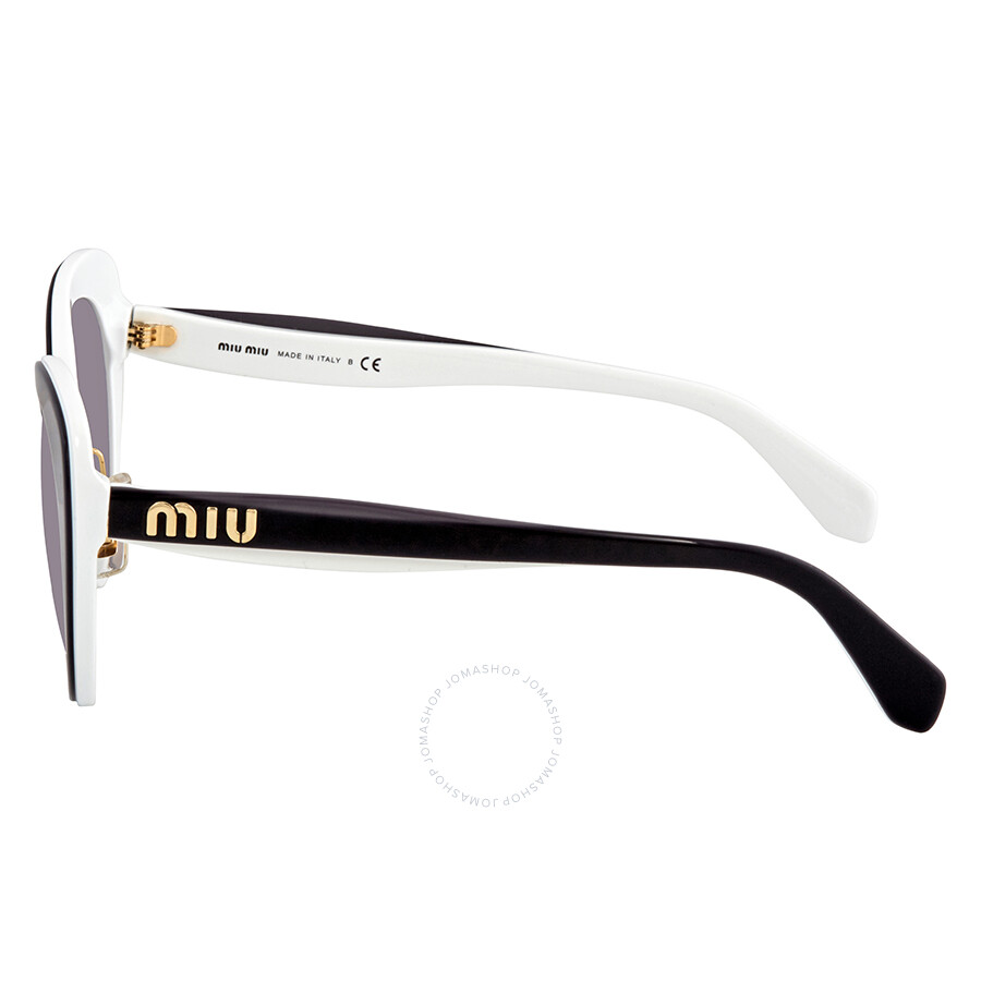 cb85b5ca329 ... Miu Miu Pink Gradient Dark Cat Eye Ladies Sunglasses MU 06TS J9XGR0 53