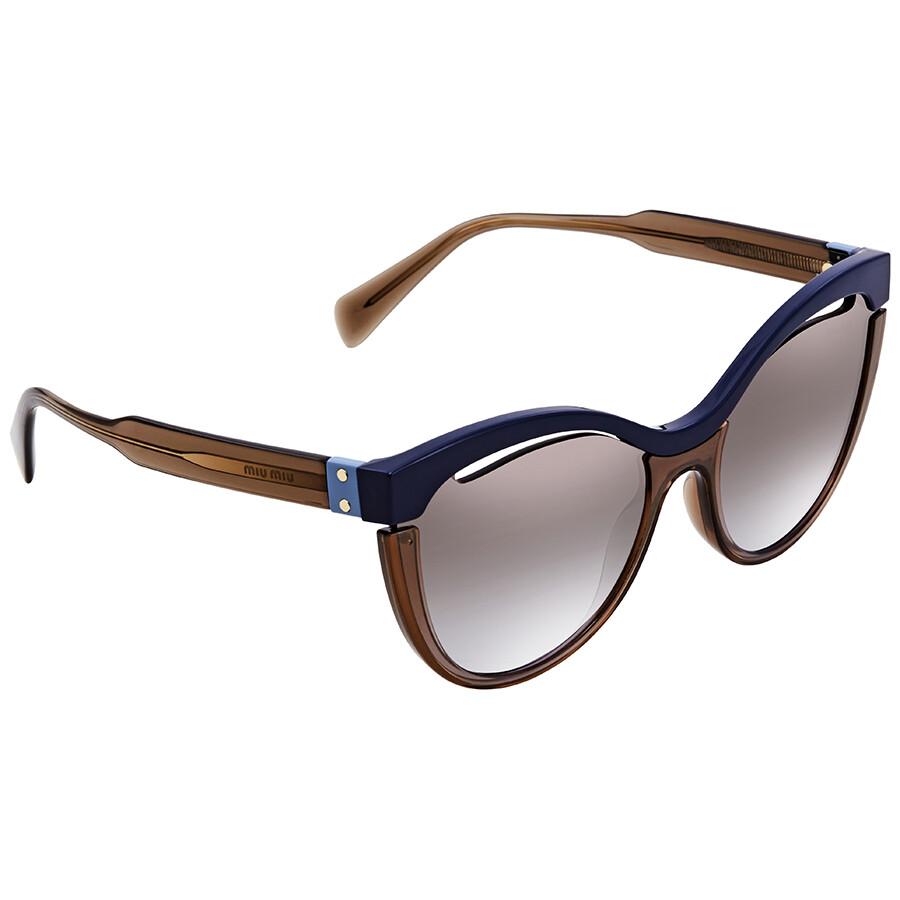 7e08a044e66a Miu Miu Cat Eye Sunglasses MU 01TS UE62H2 36 - Miu Miu - Sunglasses ...