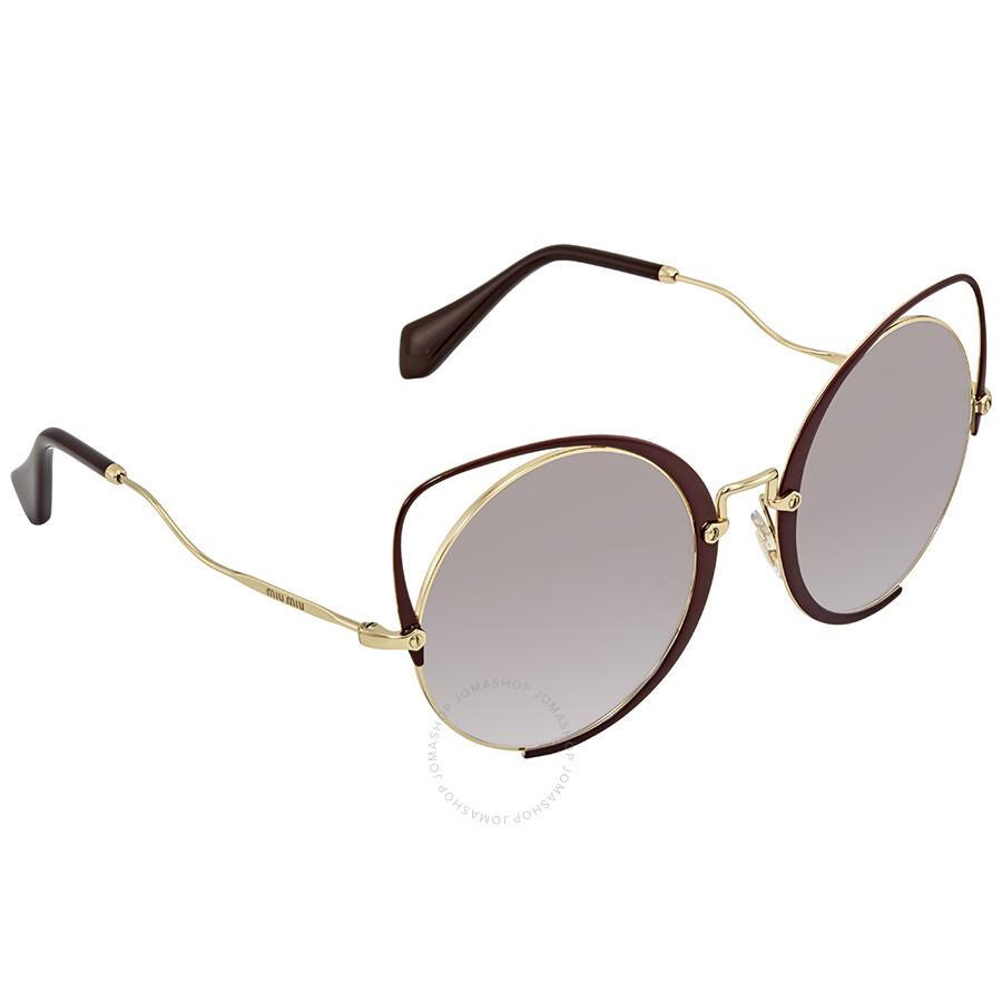 f5cfaa5d99e3 Miu Miu Cat Eye Sunglasses MU 51TS R1J2H2 54 - Miu Miu - Sunglasses ...