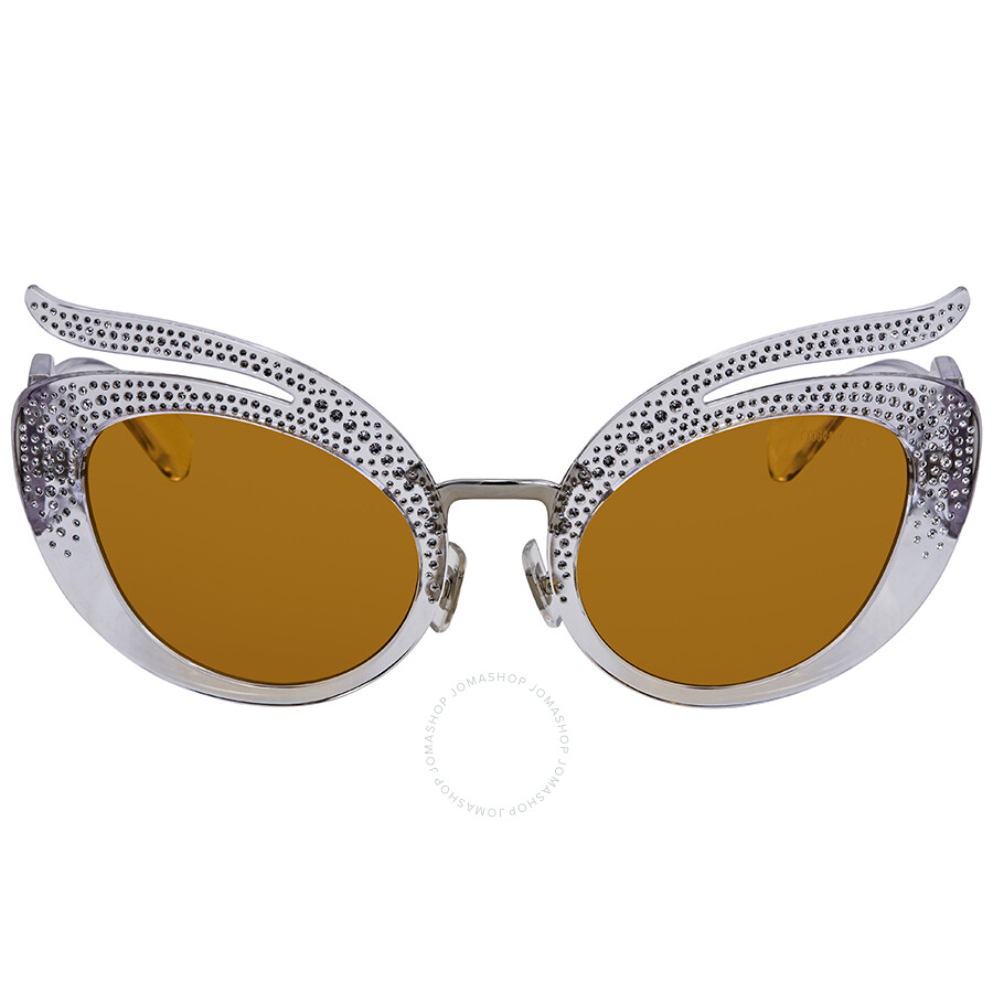 01d3837f376 Miu Miu Yellow Cat Eye Sunglasses MU 04TS TIA140 53 - Miu Miu ...