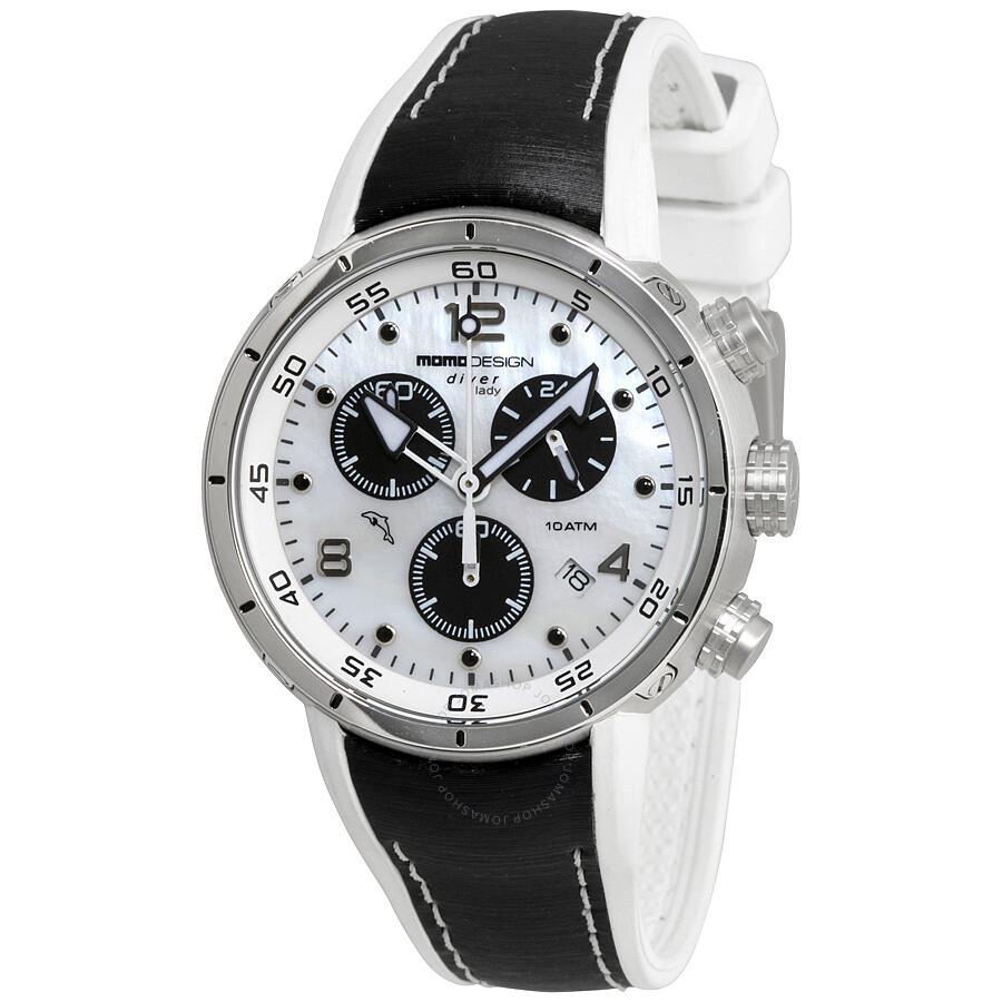 Momo design diver pro chronograph ladies watch 2205ss 11 - Momo design prezzi ...