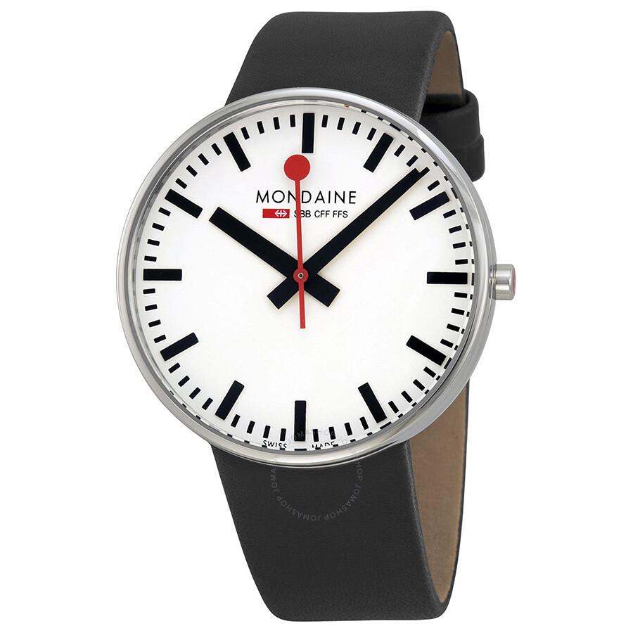 Mondaine Classic Swiss Railways Giant Men s Watch A6603032811SBB Item No.  A660.30328.11SBB 22a9d4622c