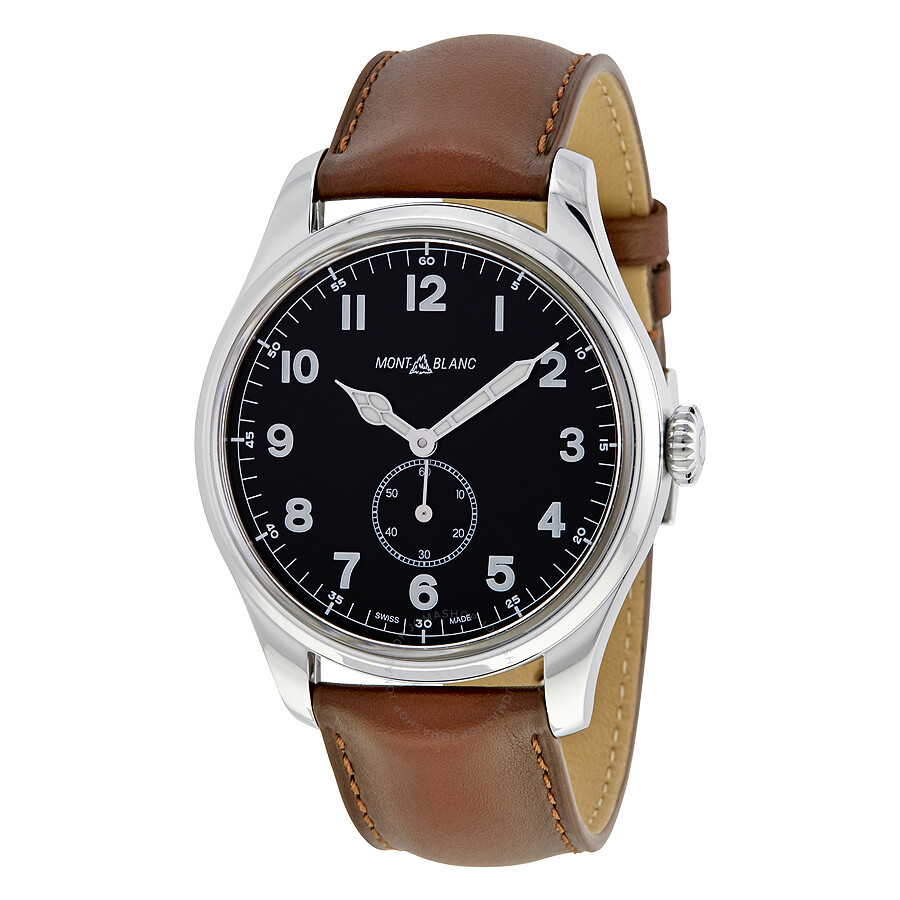 Montblanc 1858 automatic men 39 s watch 115073 1858 montblanc watches jomashop for Montblanc watches