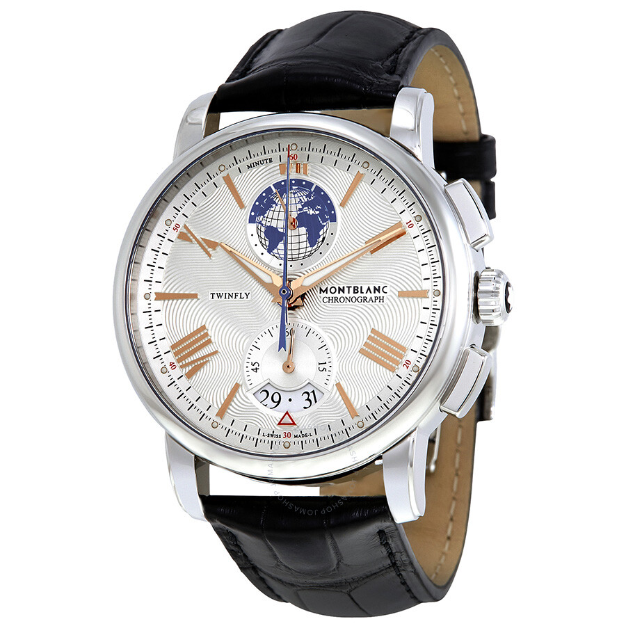 Montblanc 4810 chronograph automatic men 39 s watch 114859 4810 montblanc watches jomashop for Montblanc watches
