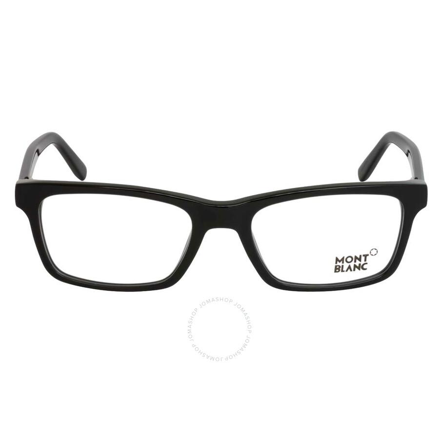 377940e33e Montblanc Black Eyeglasses MB0541 001 55 Montblanc Black Eyeglasses MB0541 001  55