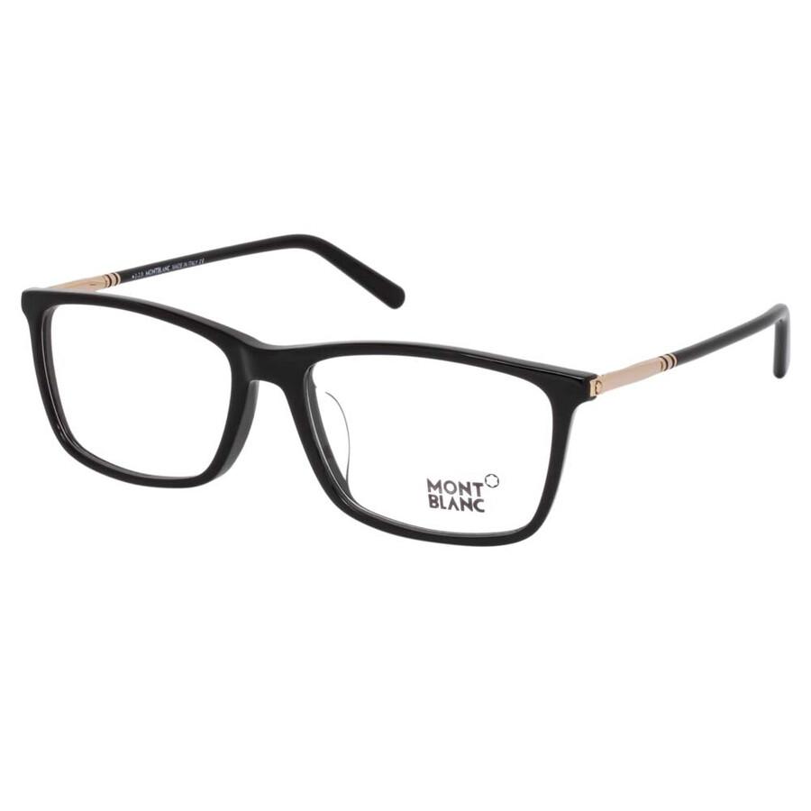 f3e31e98ce5b Montblanc Black Eyeglasses MB0626-F A01 55 - Montblanc - Sunglasses ...