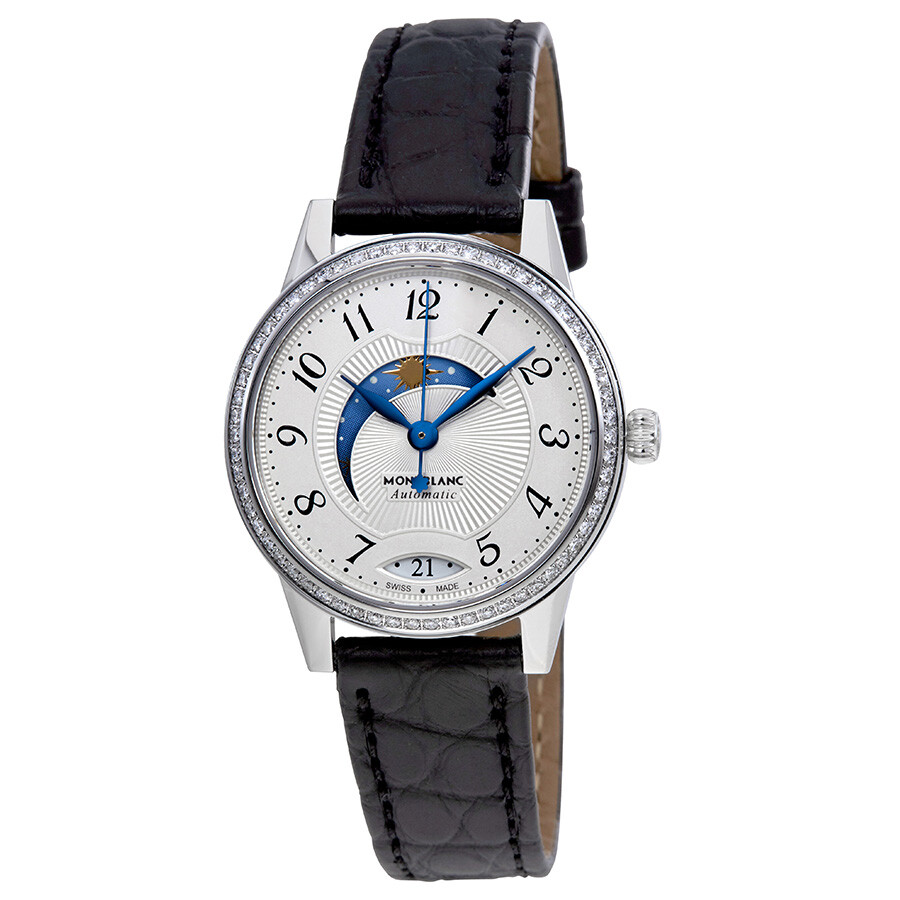 Montblanc boheme day and night automatic ladies watch 114732 boheme montblanc watches for Montblanc watches