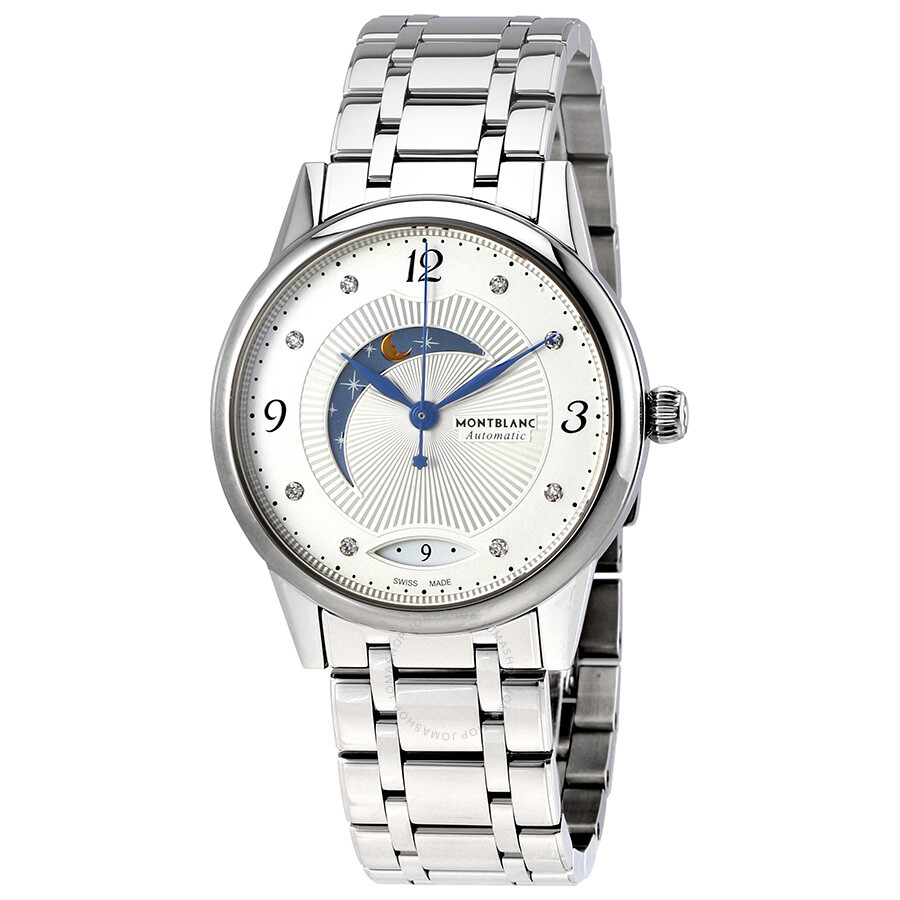 Montblanc Boheme Day And Night Silvery White Dial Ladies