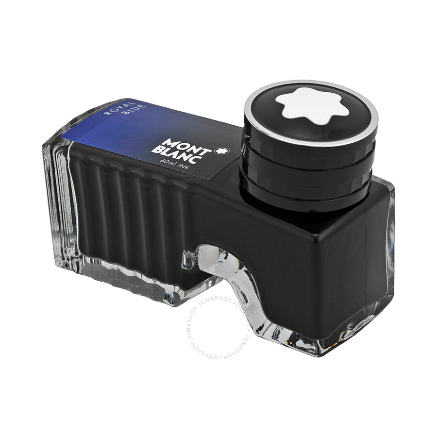Montblanc Bottled Ink Refill Royal Blue 105192 Fine Niion New Ordo Black