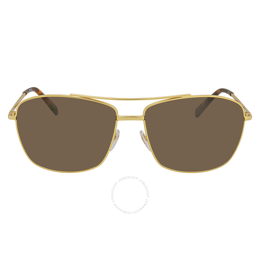 eaa78a257b706 Montblanc Brown Aviator Men s Sunglasses MB548S 30E 63 - Montblanc ...