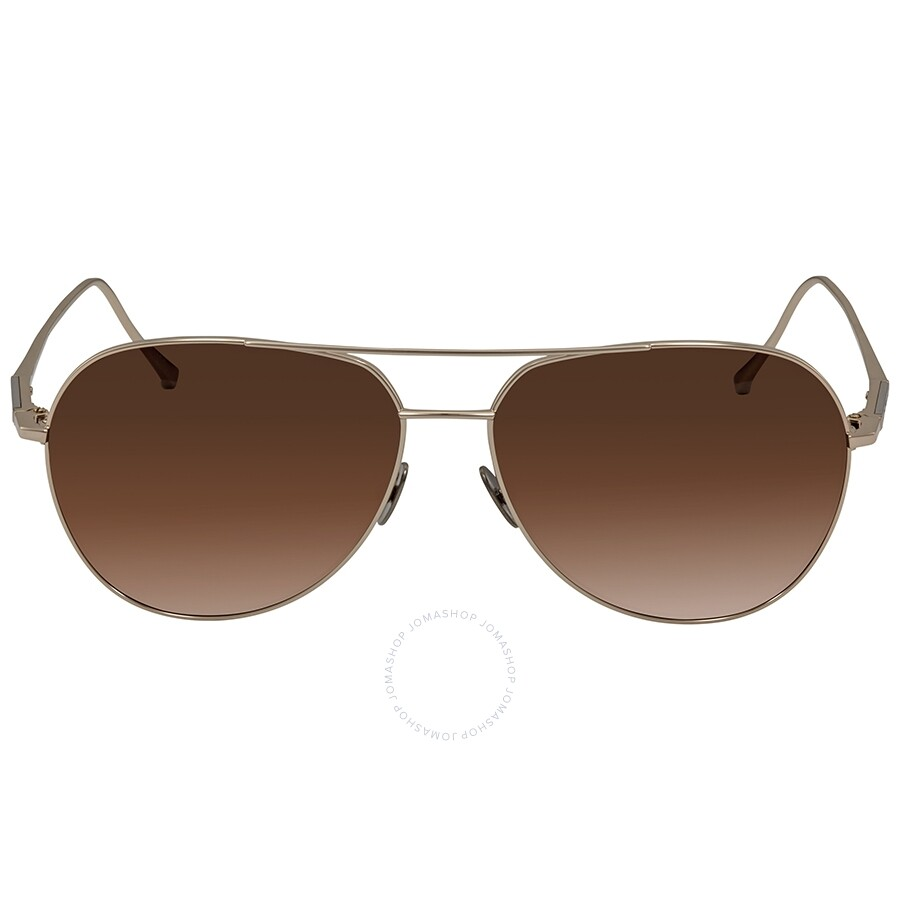 1b91474cf318 ... Montblanc Brown Gradient Aviator Sunglasses MB657S 32F 61 ...