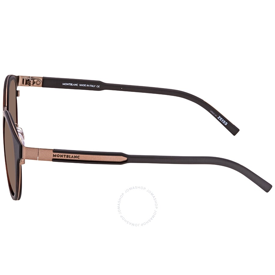 d4a8a10be757 Montblanc Brown Round Sunglasses MB590S-F 52E 48 - Montblanc ...