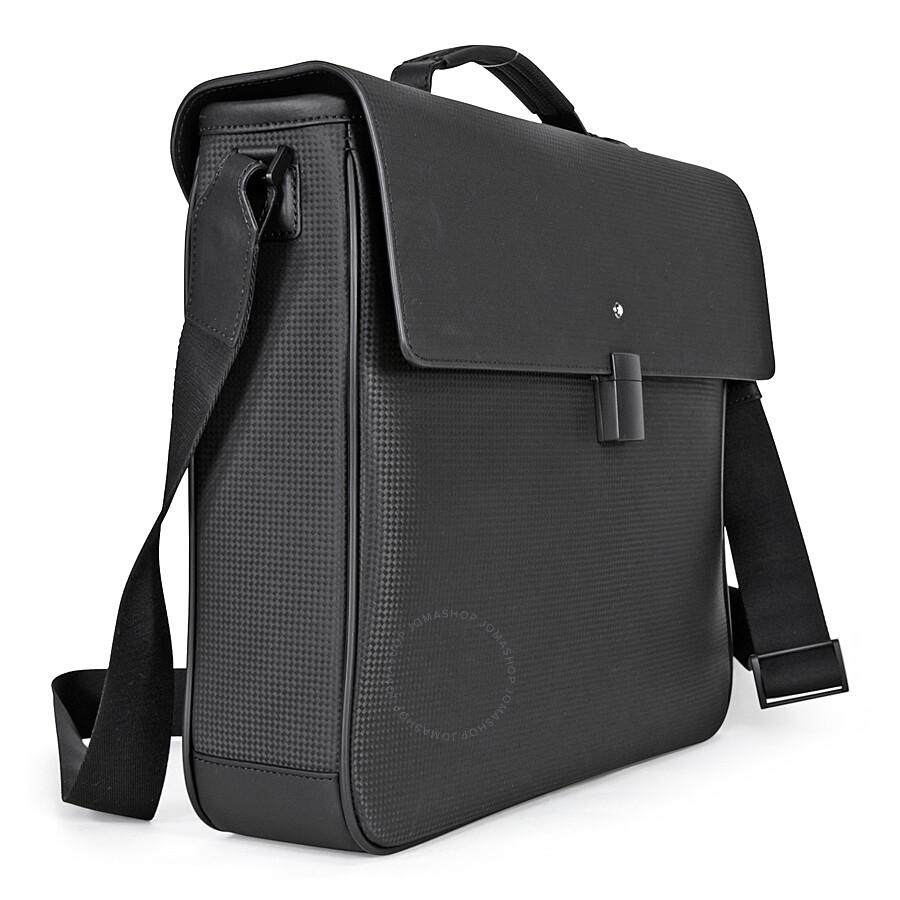 409e67825f MontBlanc Extreme Single Gusset Briefcase- Black - Montblanc ...