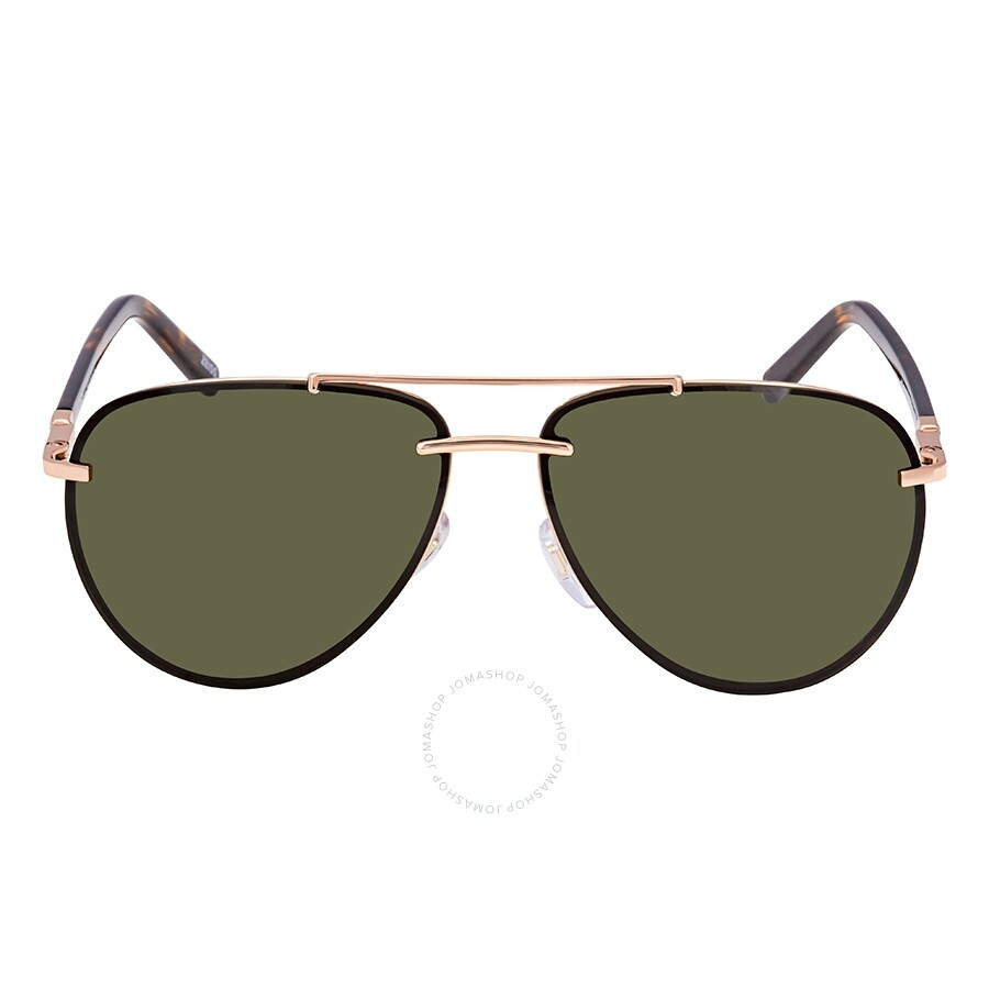 bc34a8a1641f Montblanc Green Aviator Sunglasses MB596S 28N 62 Montblanc Green Aviator  Sunglasses MB596S 28N 62 ...