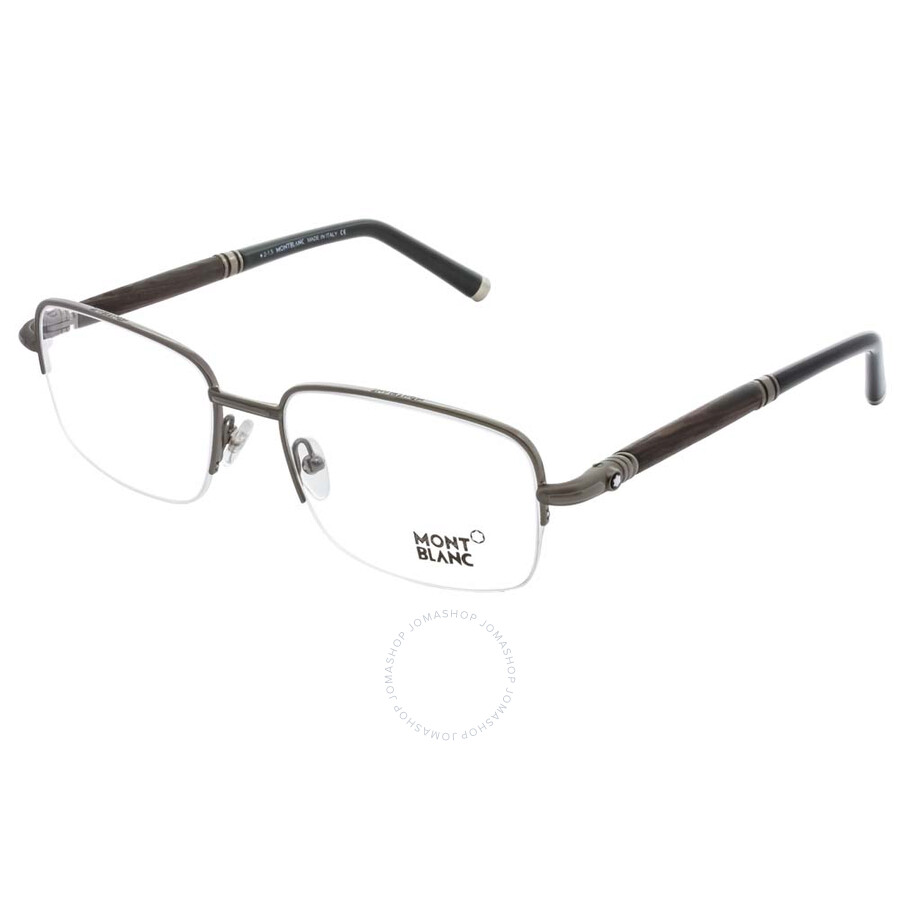b5c3fb0398fe Montblanc Gunmetal Eyeglasses MB0534 008 55 - Montblanc - Sunglasses ...