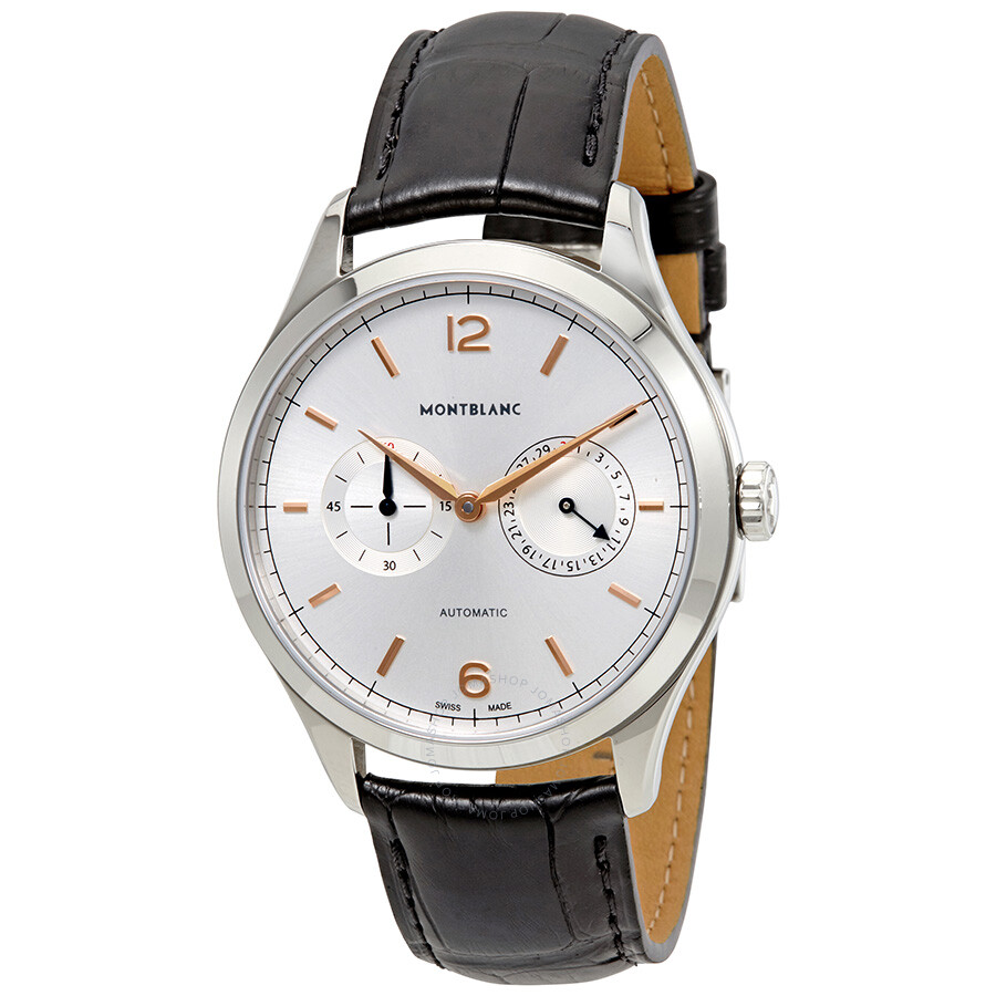Montblanc heritage chronometrie automatic men 39 s watch for Montblanc house