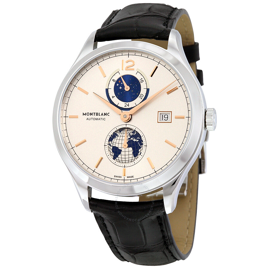 Montblanc heritage chronometrie dual time men 39 s watch for Montblanc house