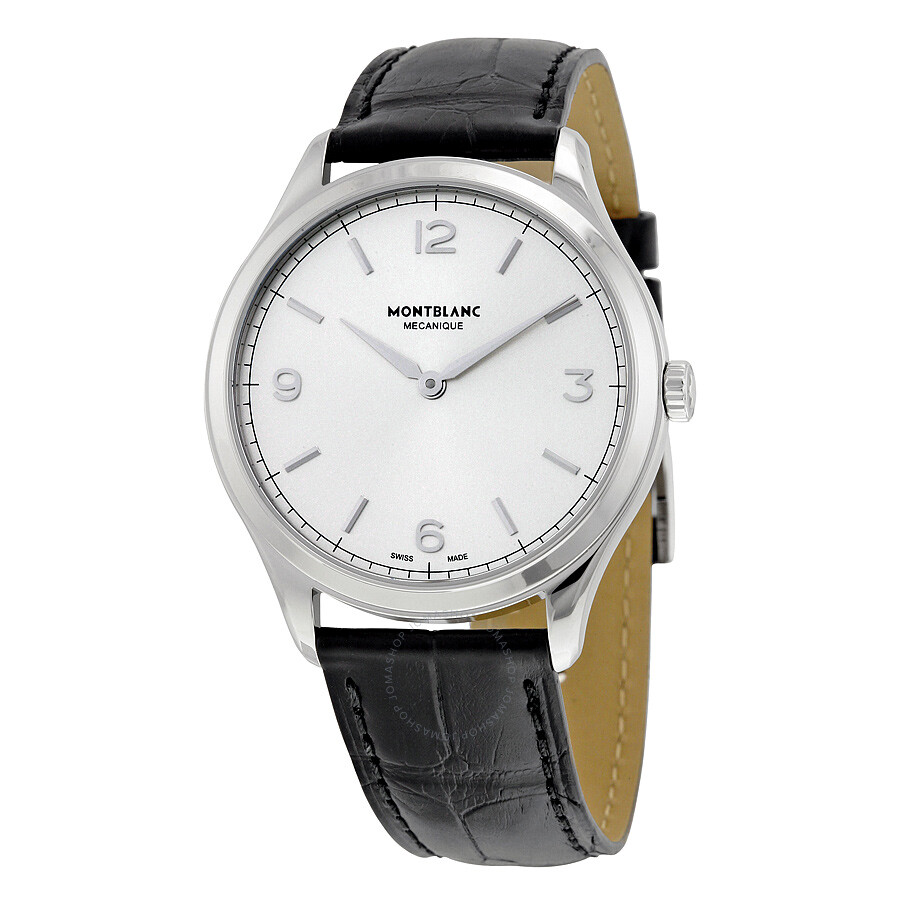 Montblanc Heritage Chronometrie Hand Wind Dial Men 39 S Watch