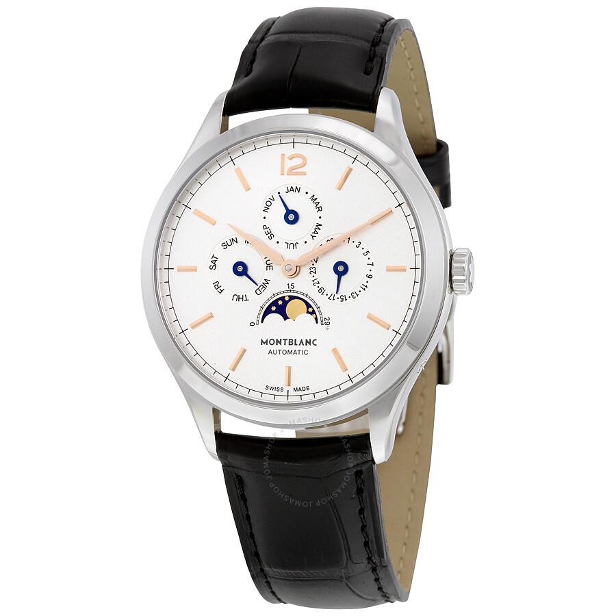 Montblanc heritage chronometrie quantieme annuel men 39 s watch 112534 heritage chronometrie for Montblanc watches