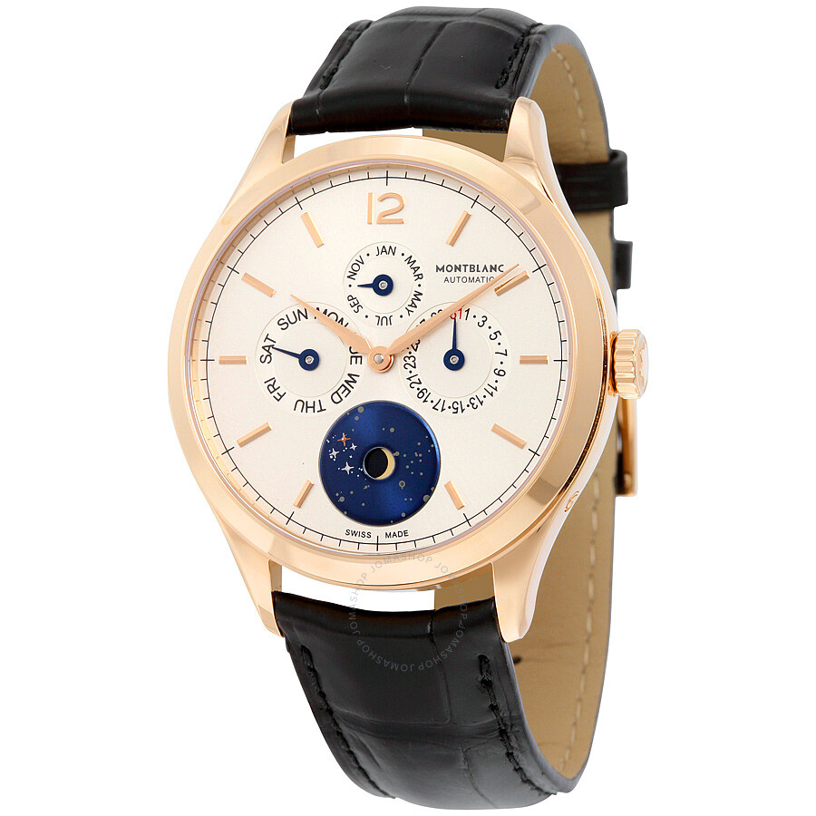 Montblanc heritage chronometrie quantieme annuel vasco da gama men 39 s watch 112537 heritage for Vasco watches