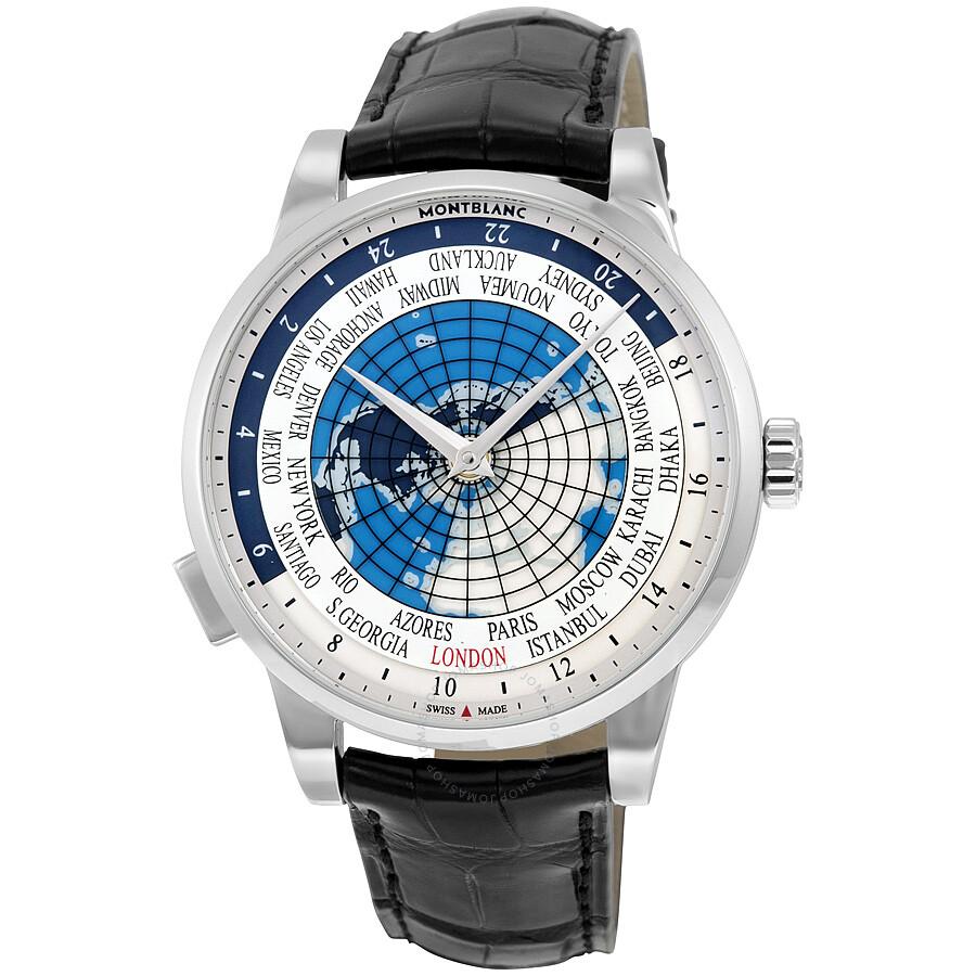 Montblanc watches jomashop montblanc montblanc heritage spirit orbis terrarum world map automatic mens watch gumiabroncs Image collections