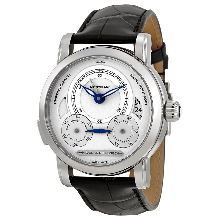 Montblanc homage to nicolas rieussec men 39 s watch 111012 nicolas rieussec montblanc watches for Montblanc watches