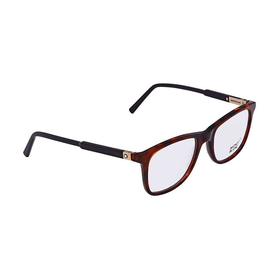 be8df649df02 Montblanc Marble Brown Black Men's Rectangle Eyeglasses MB0637 056 52 ...