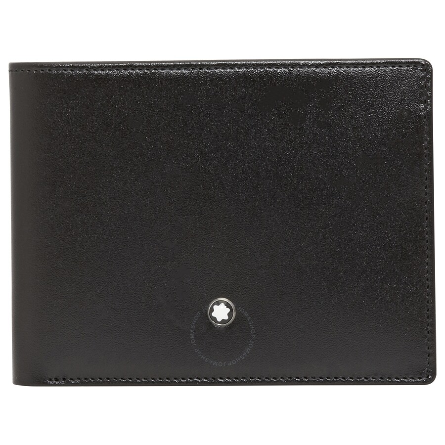 Leather Gmbh Contact Us Email Sales Mail: Montblanc Meisterstuck Black Leather Wallet 14548