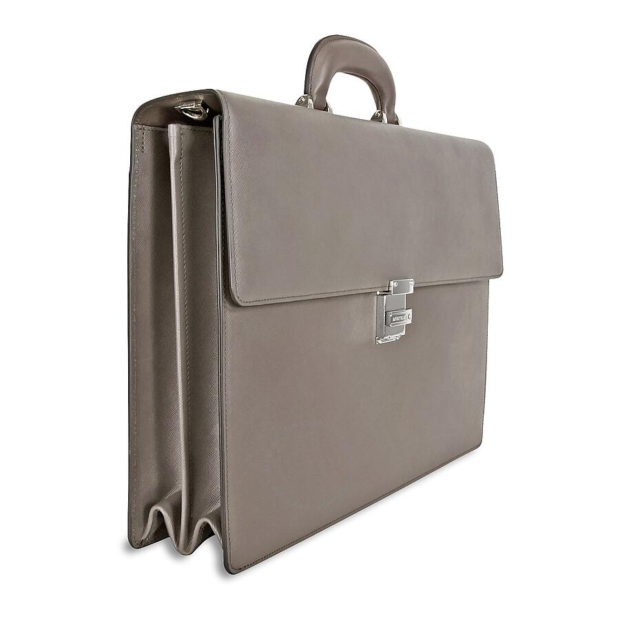 d0f8004fad Montblanc Meisterstück Briefcase- Black - Montblanc - Handbags ...
