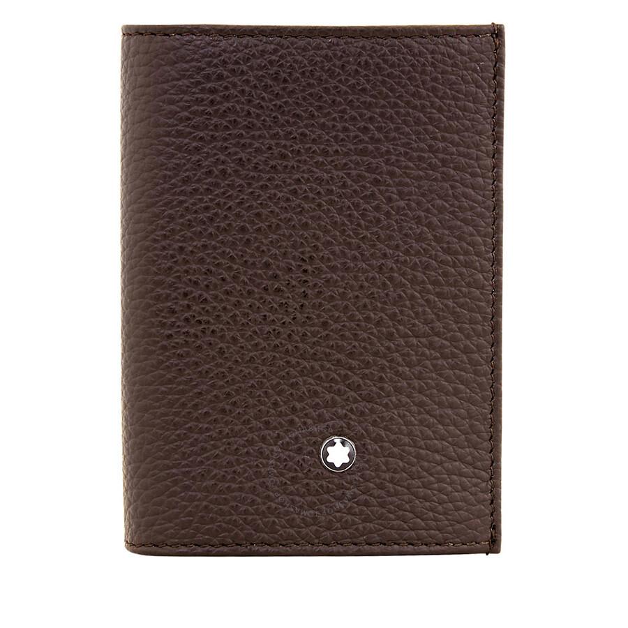 Montblanc Meisterstuck Business Card Holder - Brown - Montblanc ...
