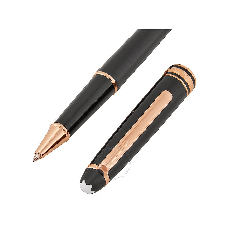 Montblanc Meisterstuck Classique Red Gold Rollerball Pen