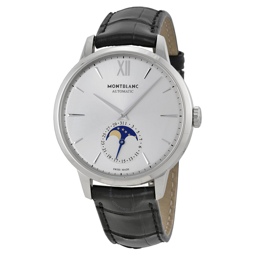 4aeddf330f7 Montblanc Meisterstuck Heritage Moonstruck Men s Watch 110699 ...
