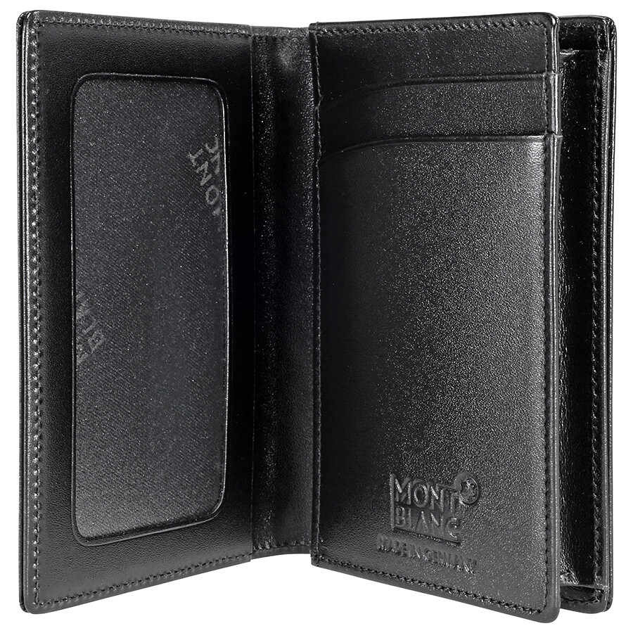 a8ac57dd039ce2 Montblanc Meisterstuck Leather Business Card Holder - Black ...