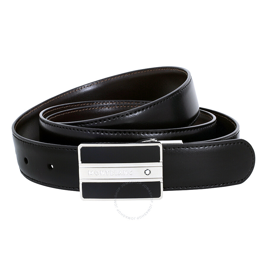 c44d08b94a9 Montblanc Meisterstuck Reversible Leather Belt - Black   Brown ...