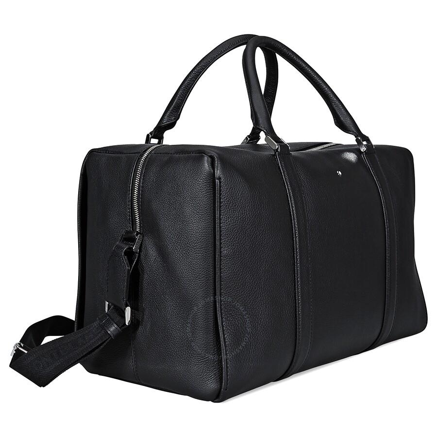 7e7ea1a16087 ... MontBlanc Meisterstuck Soft Grain Small Duffle Bag- Black ...