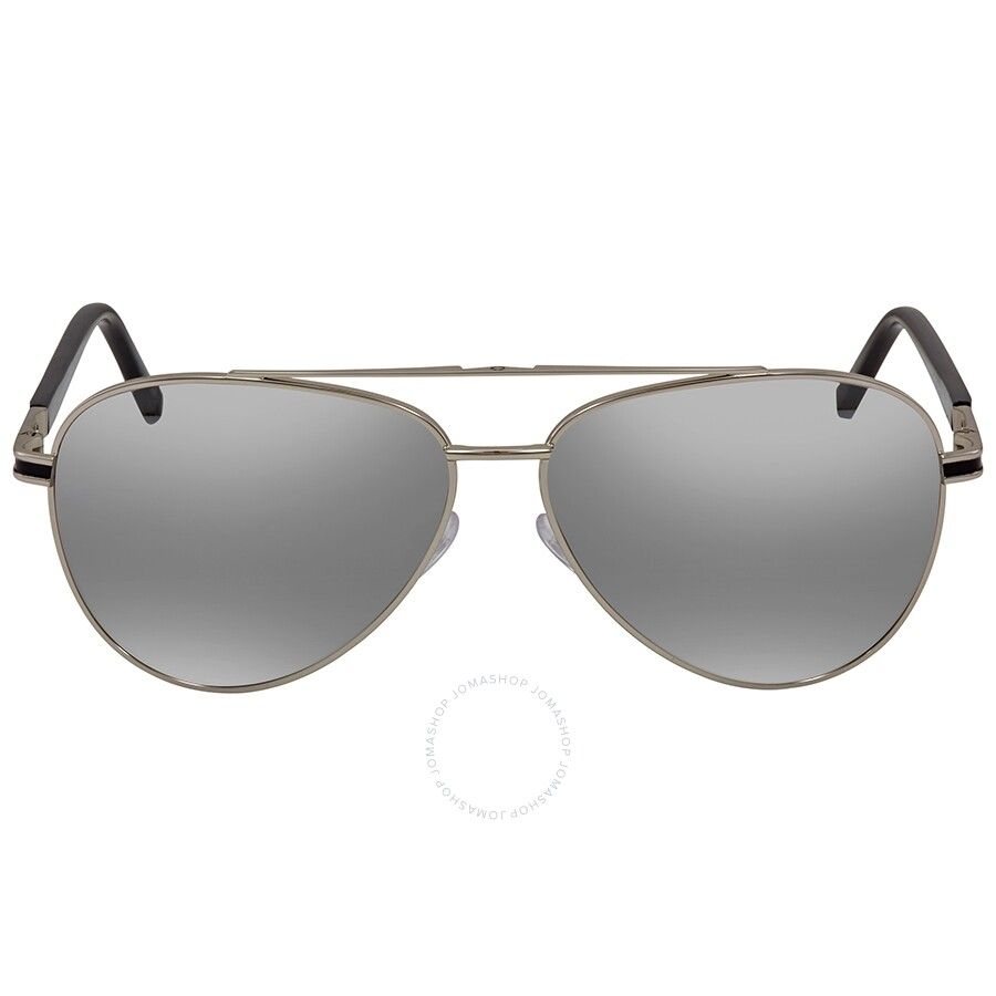 267425cbc Montblanc Mirrored Grey Aviator Sunglasses MB702S 16C 59 - Montblanc ...